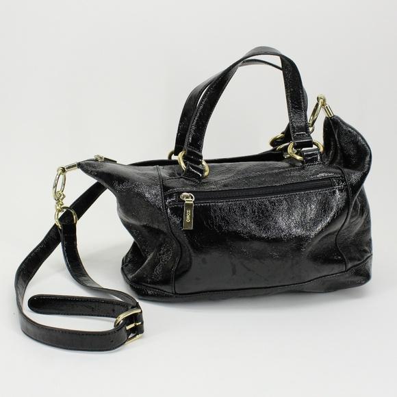 HOBO Handbags - HOBO Patent Leather Crossbody Purse
